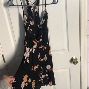 Urban Outfitters Floral Fit & Flare Dress